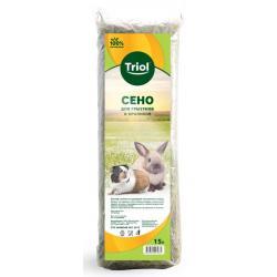 Сено луговое для грызунов и кроликов Triol, 15 л (500 г)