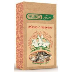 Лакомство для грызунов Чика-био Яблоко с травами, 35 г