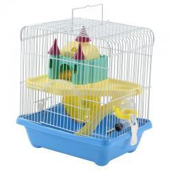 Клетка для грызунов Triol двухэтажная, 27,8x20,5x31 см
