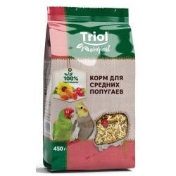 Корм для средних попугаев Triol Original, 450 г