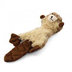 Игрушка для собак Бобёр с двумя пищалками, 25 см