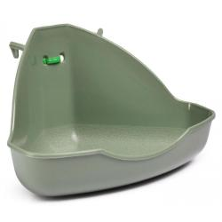 Туалет для грызунов Miniloo, угловой, 15х11х9 см