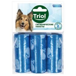 Сменные гигиенические пакеты Triol, 2,5x6 см (3 штуки)