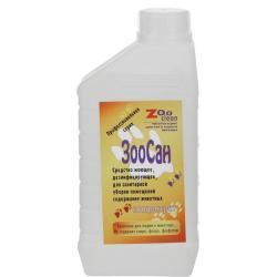 Моющий дезинфицирующий уничтожитель запаха Zoo Clean ЗооСан (концентрат), 1 л