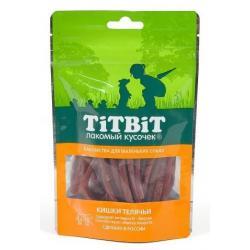 Лакомство для маленьких собак TiTBiT Кишки телячьи, 50 г